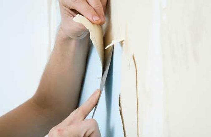 Как очистить стены от обоев