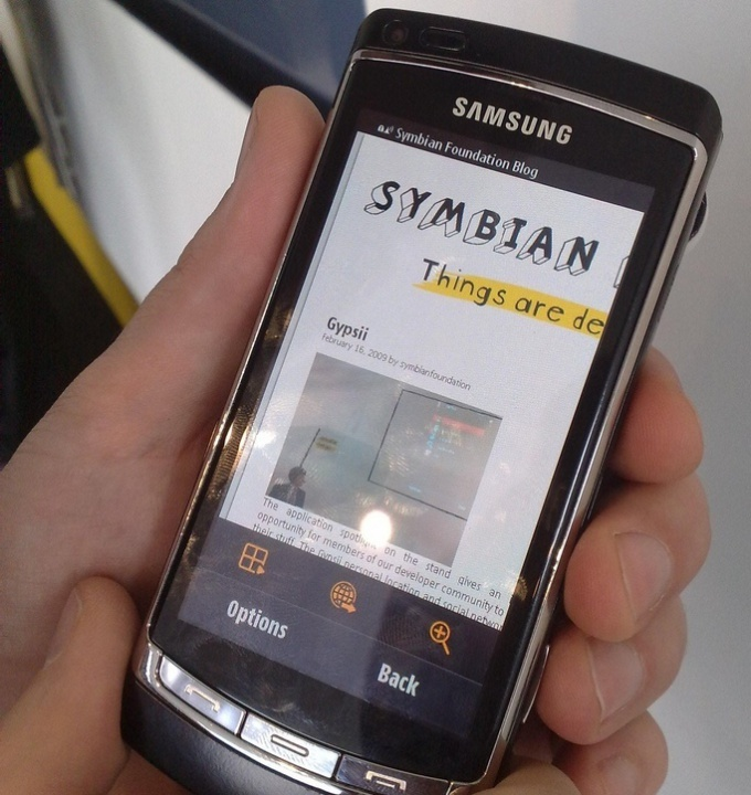Applications for Symbian must be signed personal certificate