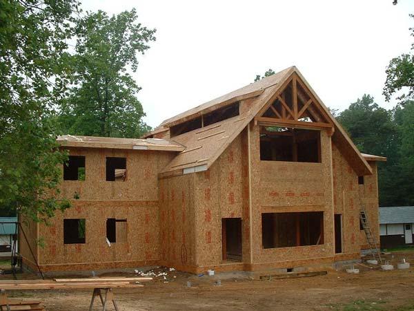 Как построить дом самому из сэндвич панелей