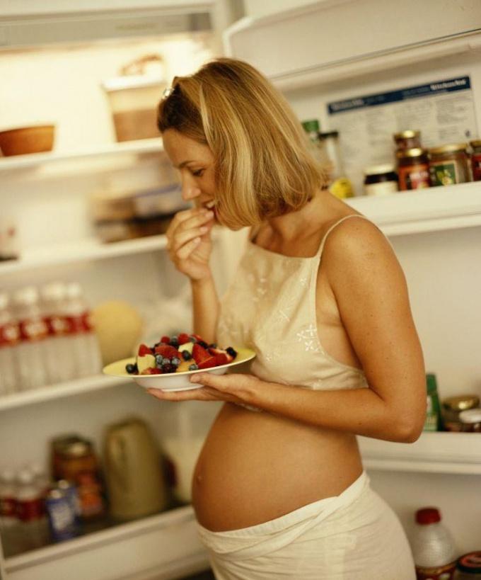 Как набирать вес беременной