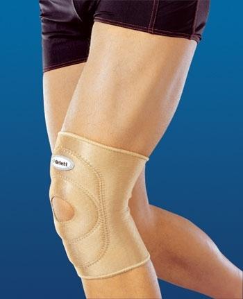 Как лечить растяжение колена