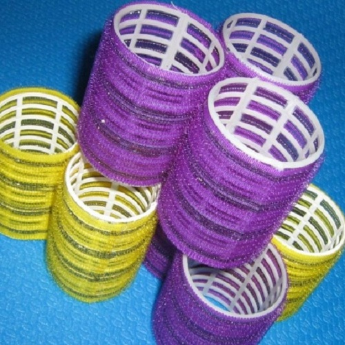 How to cheat curlers Velcro