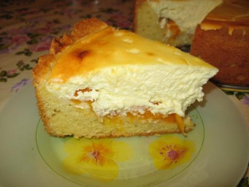 Ароматный и полезный творожный пирог