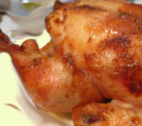 Как запечь цыплёнка