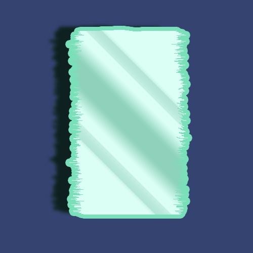 Как нарисовать зеркало