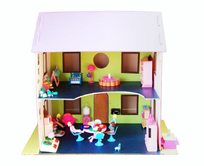 Как сделать кукольный дом