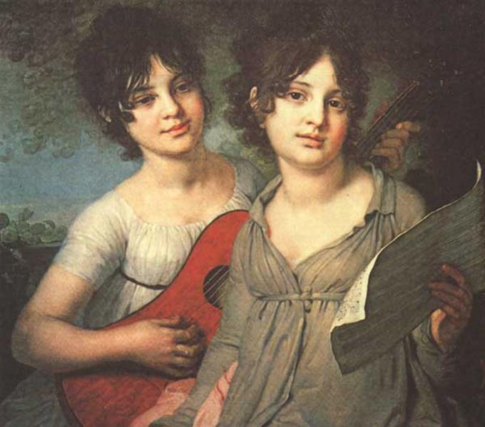 Когда-то на семиструнной гитаре играли даже в аристократических салонах