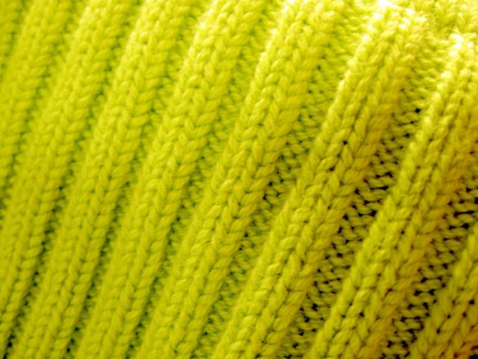 Для шарфа подойдет резинка 2х2