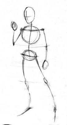 Как рисовать мужское <strong>тело</strong>