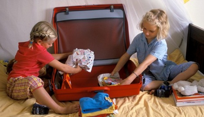 Как собрать ребёнка в лагерь