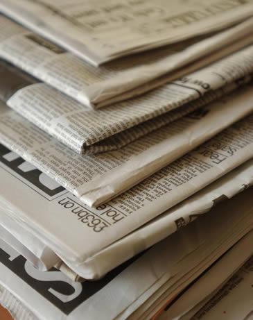 Влажные газеты могут расширить ботинки