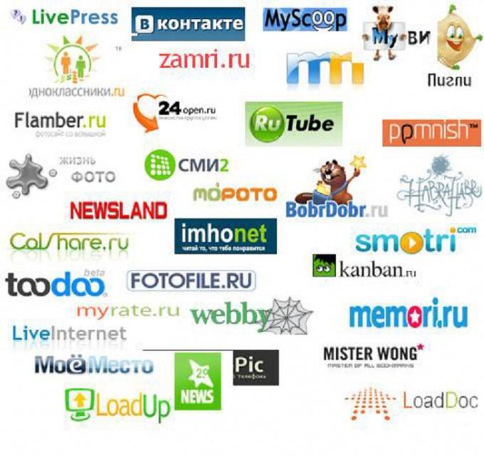 Web social networking