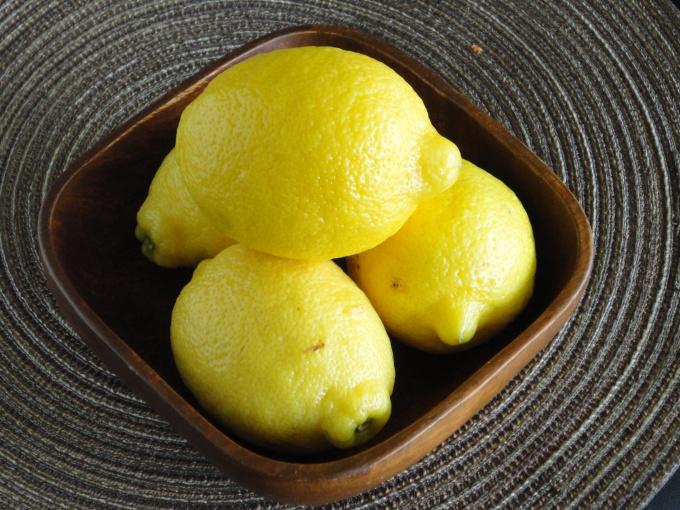 Как готовить пирог с лимоном