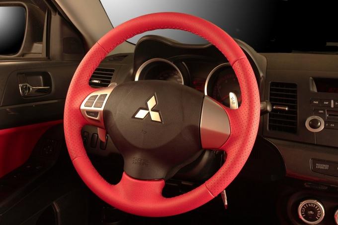 Как обтянуть руль своими руками фото