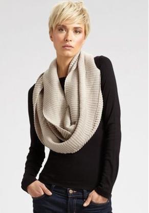 Как вязать шарф-воротник