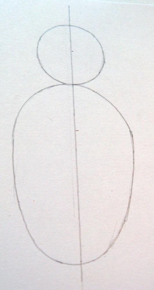 Как нарисовать <strong>домового</strong>