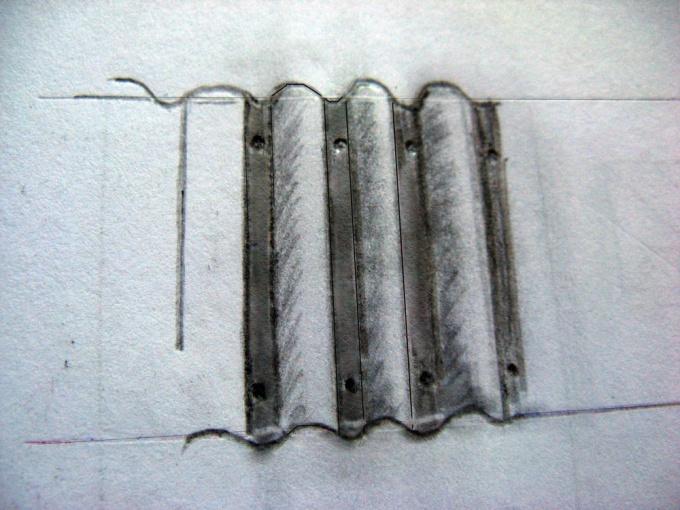 Как нарисовать забор