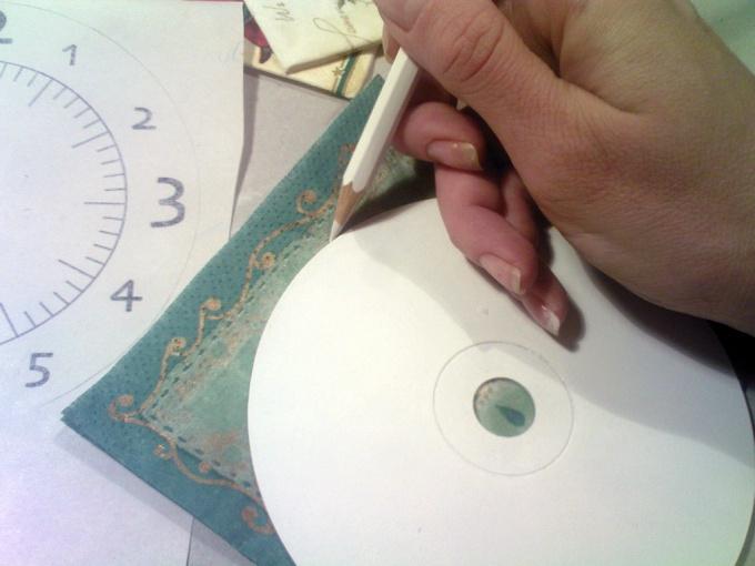 Как нарисовать циферблат