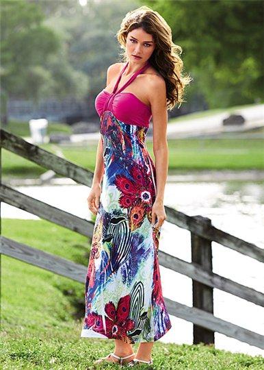 Как сшить открытое платье