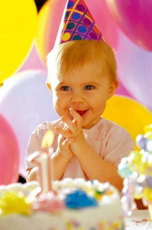 How to celebrate the first birthday of the baby