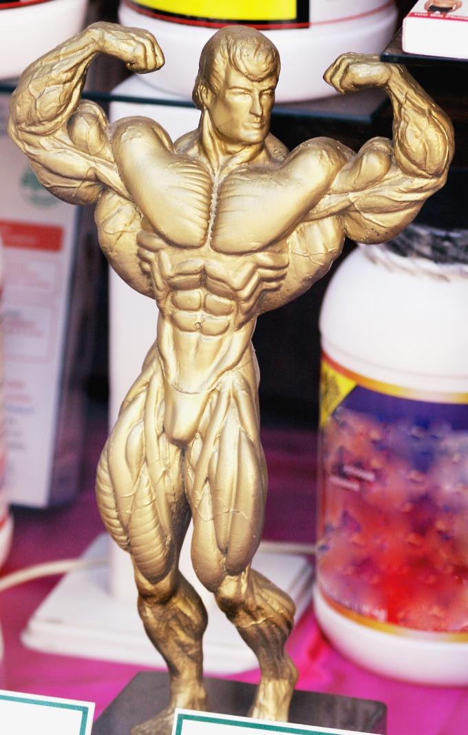 Красивое тело - это результат упорного труда