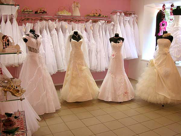 How to call a Bridal salon