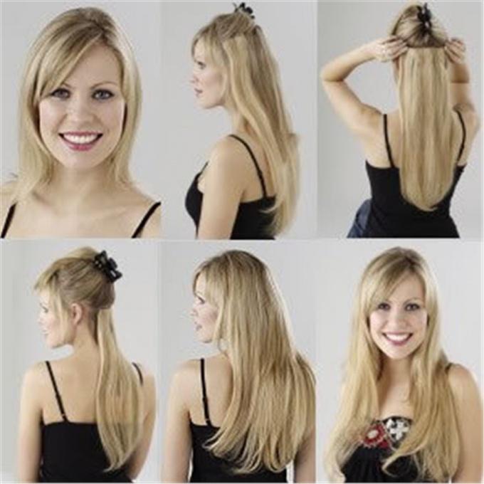 Как крепить крепить накладные волосы