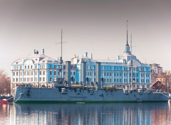 The building of the Nakhimov naval school (St. Petersburg)