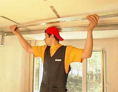 Сделайте потолок из гипсокартона своими руками