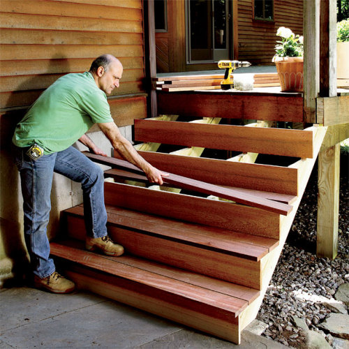 How to build stairs on <strong>the country</strong>