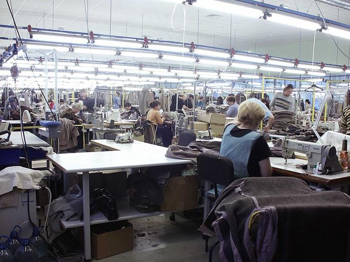 Как организовать швейное производство