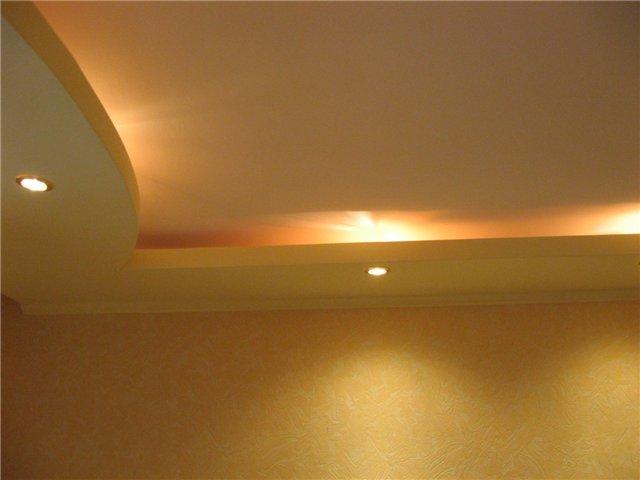 Как подшить потолок гипсокартоном самому