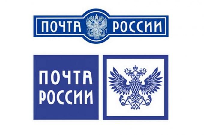 Сине-белая эмблема почты России известна всем