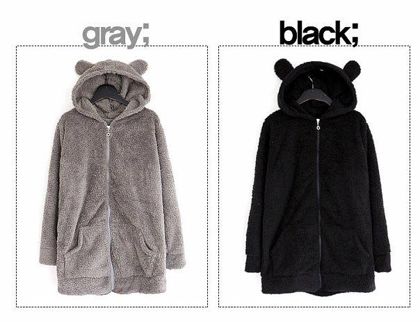 Иногда можно просто купить куртку с ушками или пришить их к вашему зимнему пальто - и вы