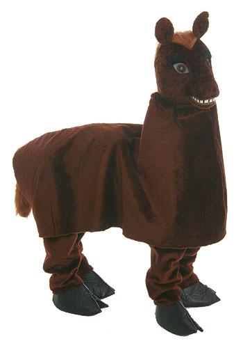 Костюм лошади - самый веселый, командный