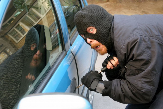 How to act if there is a suspicion that the car is stolen.