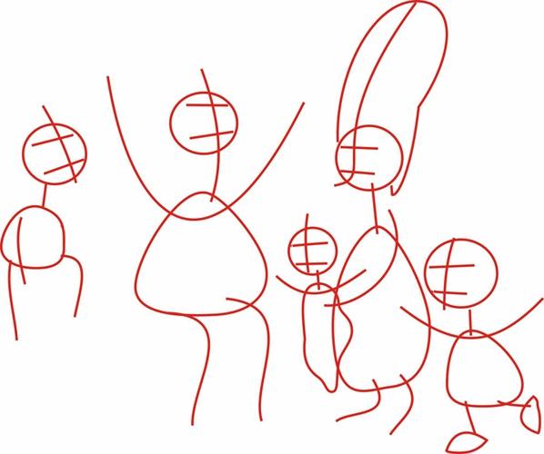 Как рисовать <strong>Симпсонов</strong>. Шаг 1.