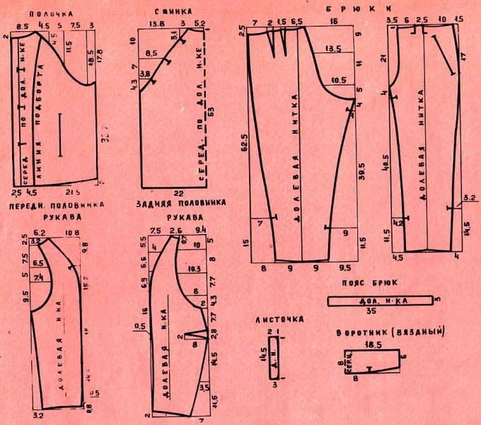 Как сшить брюки для девочек своими руками
