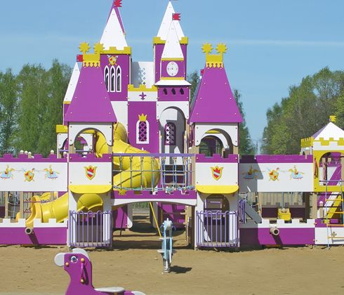 Как оформить участок в детском саду