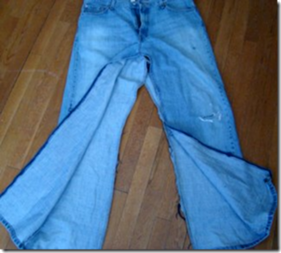 How to alter <strong>jeans</strong> <b>skirt</b>