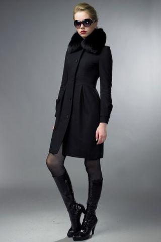 Пальто, покинув мужской гардероб, стало символом женственности
