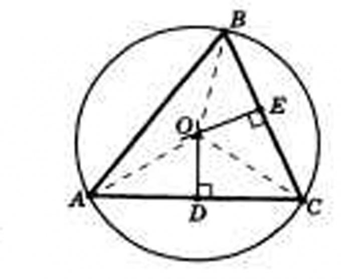Начертите треугольник с заданными параметрами