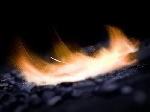 Как сделать холодный огонь