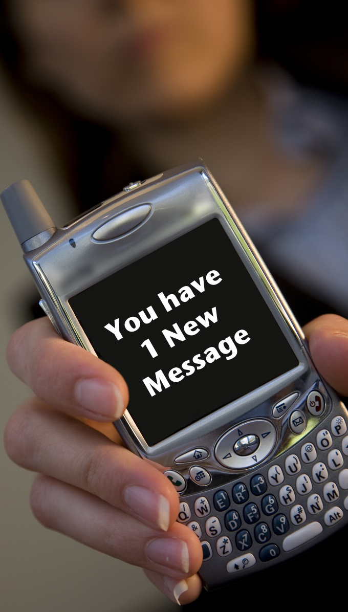 How to send SMS to cell phone
