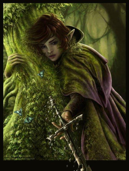 Сказочные существа эльфы