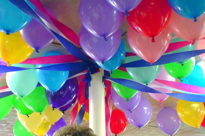 Оформление воздушными шарами - полет для фантазии