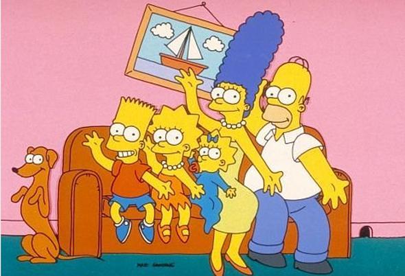 """Как рисовать персонажей из """"Симпсонов"""""""