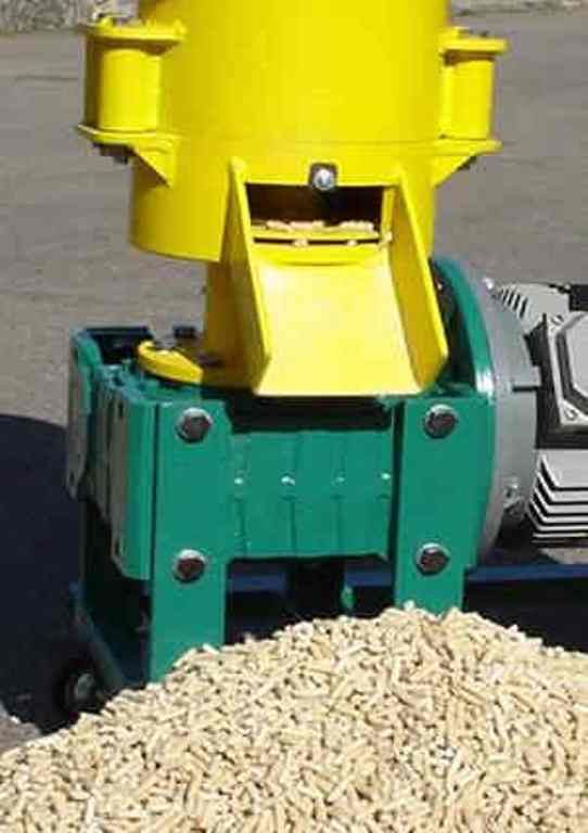 How to make pellet mill