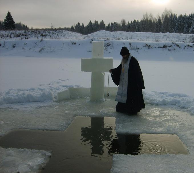 Как принять крещение
