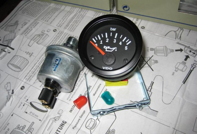 Как подключить датчик <b>давления</b> <em>масла</em>